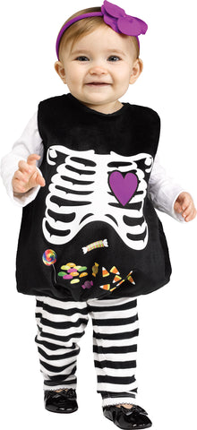 Skelly Belly Baby Costume