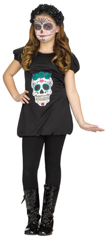 Day of the Dead Romper