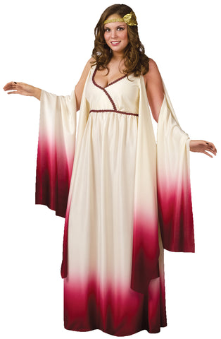 Women's Plus Size Venus Goddess of Love Costume