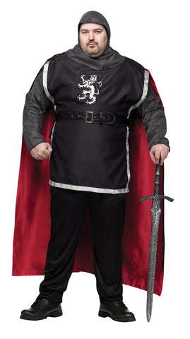Men's Plus Size Medieval Knight