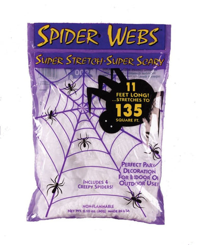Spiderweb 40Gr White