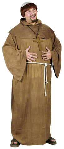 Plus Size Medieval Monk Costume