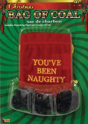 """You Are Naughty"" Bag of Coal"