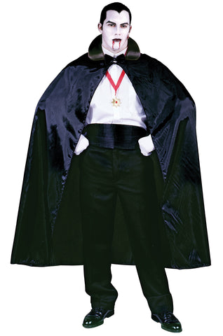 "56"" Black Count Cape"