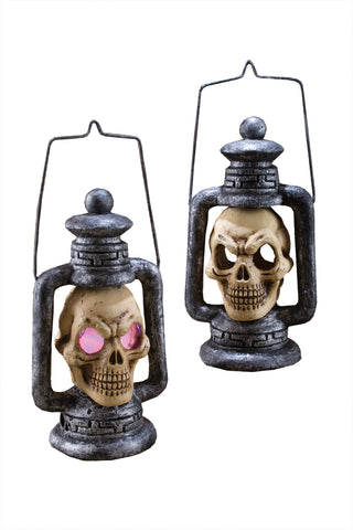 Skull Lantern Light-Up