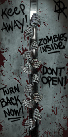 Zombie Door Cover Breakout