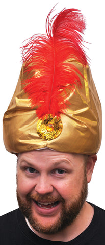 Turban Deluxe with Plume