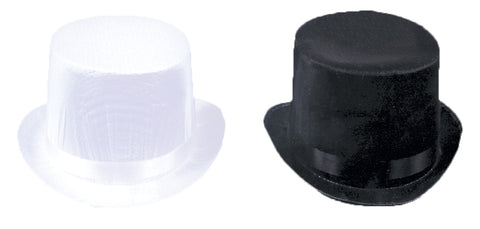 Top Hat Trans Silk Black