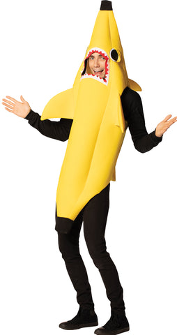 Banana Shark Adult Costume