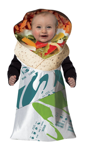 Taco Bell Burrito Baby Bunting