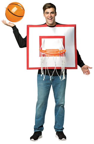 Basketball Hoop with Ball Costume