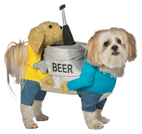 Beer Keg Dog Costume