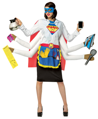 Women's Super Mom Costume