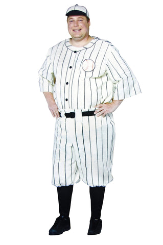 Men's Plus Size Old Tyme Baseball Player