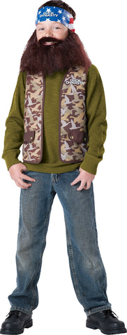 Boy's Willie Costume - Duck Dynasty
