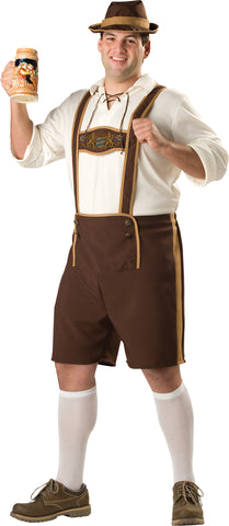 Men's Plus Size Bavarian Guy Costume