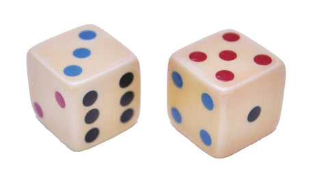 "5/8"" Inlaid Dice"