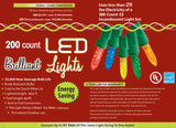 200-Count C3 Holiday Lights