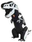 Adult Skeleton T-Rex Inflatable Costume