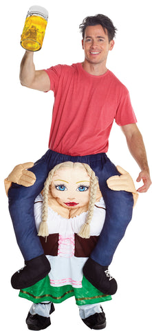 Adult German Beer Wench Piggyback Costume