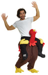 Adult Turkey Trot Piggyback Costume