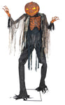 7' Scorched Scarecrow Animated Prop - WITHOUT FOG MACHINE