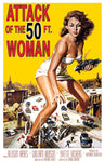 50' Woman Movie Poster Cling