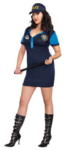 Women's Plus Size The Dirty Detective Costume