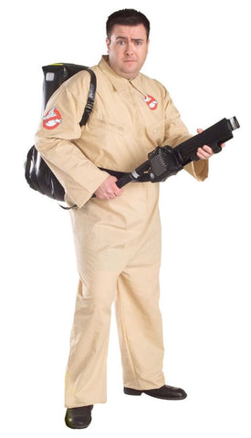 Men's Plus Size Ghostbusters Costume