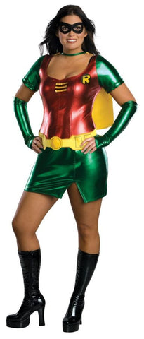 Women's Plus Size Sexy Robin Costume