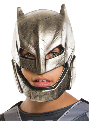 Child's Armored Batman Half Mask - Dawn of Justice