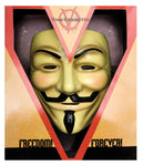 Deluxe V for Vendetta Mask