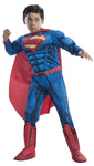 Boy's Deluxe Photo-Real Muscle Chest Superman Costume