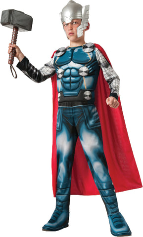 Boy's Deluxe Muscle Thor Costume