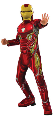 "Boy's Deluxe Iron Man ""Mark 50"" Costume - Avengers 4"