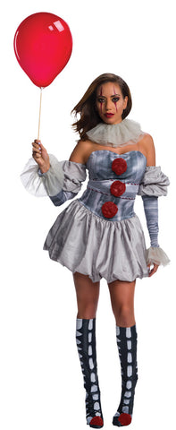 Women's Deluxe Pennywise Costume - IT Movie