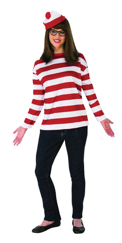 Women's Plus Size Where's Waldo Wenda Costume