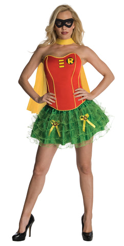 Women's Robin Flirty Corset Costume
