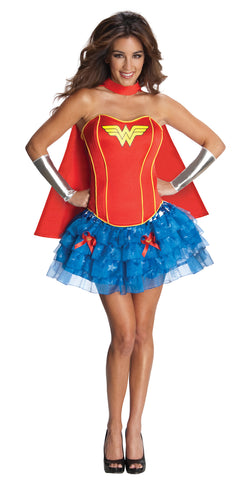Women's Wonder Woman Flirty Corset Costume