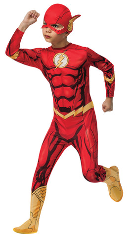 Boy's Photo-Real Flash Costume
