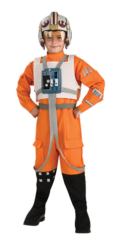 Boy's Deluxe X-Wing Fighter Costume - Star Wars Classic