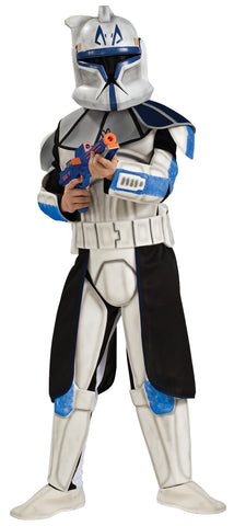Boy's Deluxe Captain Rex Costume - Star Wars: Clone Wars