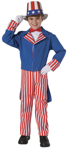 Boy's Uncle Sam Costume