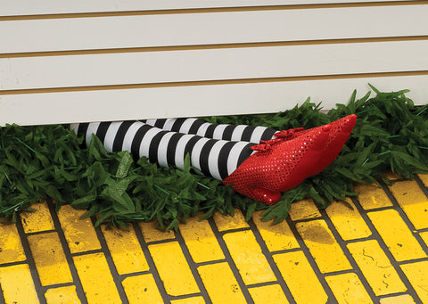 "18"" Wicked Witch Legs Prop - Wizard of Oz"