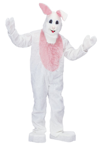 Adult White Beach Bunny Costume