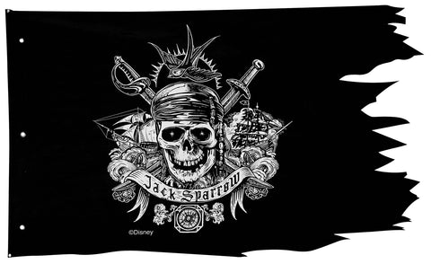 "50"" x 30"" Pirates of the Caribbean Pirate Flag"