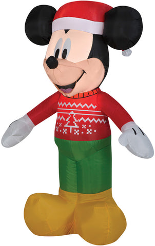 Airblown Mickey In Ugly Sweater