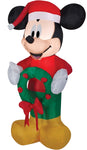 Airblown Small Mickey with Wreath Inflatable