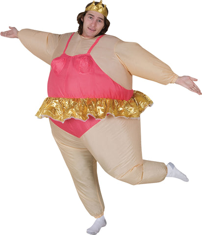 Adult Ballerina Inflatable Costume