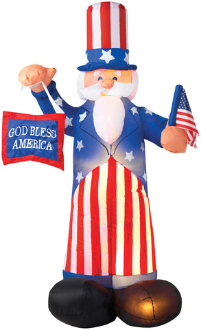6' Airblown Uncle Sam Inflatable